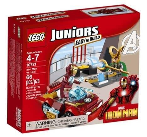 LEGO Juniors Iron Man vs. Loki Only $7.51