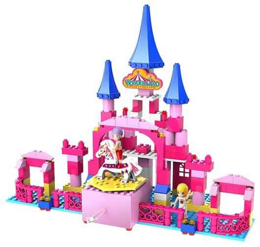 Ztrend Wonderland Princess Castle Geared Motion Building Block Toy Set Only $24