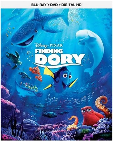 Finding Dory Blu-ray Combo Only $15 (Was $40)