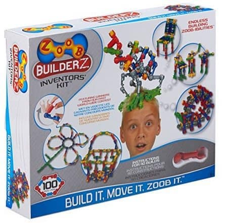 ZOOB BuilderZ Inventor's Kit $20.19 ($32)
