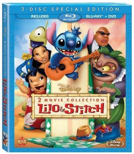 Lilo & Stitch / Lilo & Stitch: Stitch Has A Glitch Two-Movie Blu-ray Combo Only $8.86