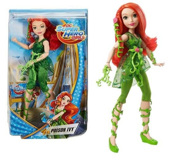 """DC Super Hero Girls Poison Ivy 12"""" Action Doll $9.59 (Was $20)"""