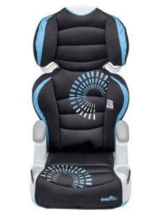 Evenflo AMP High Back Booster Car Seat $27.99
