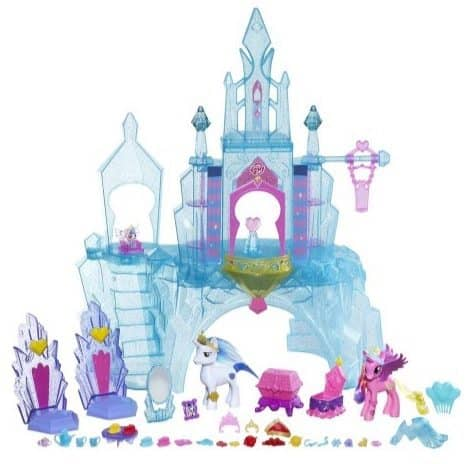 My Little Pony Explore Equestria Crystal Empire Castle Value Pack Only $25.66
