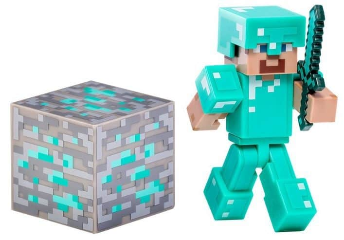 Minecraft Diamond Steve Action Figure Only $4.86