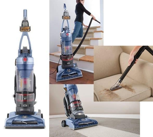 Hoover Vacuum Cleaner T-Series WindTunnel Pet Rewind Bagless Vacuum $74.99 **Today Only**