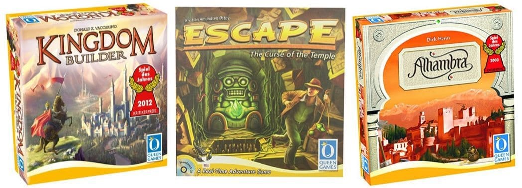Up to 60% Off Family Games by Queen Games **Today Only**