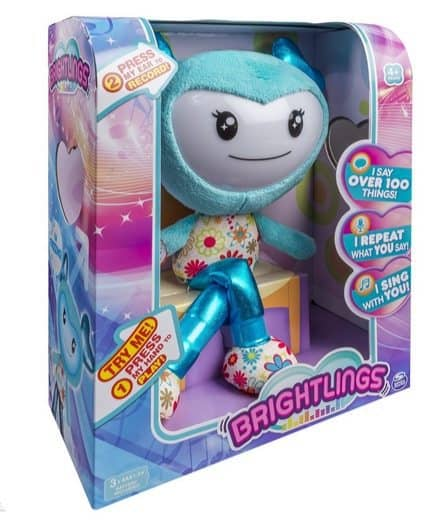 """Brightlings Interactive Singing Talking 15"""" Plush Only $17.49"""