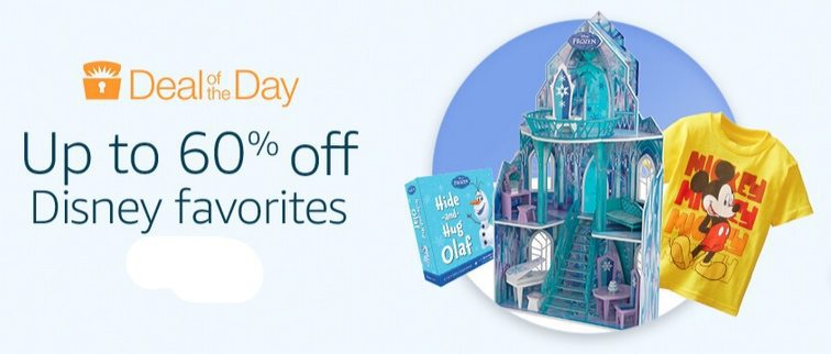 Up to 60% Off Disney Favorites **Today Only**