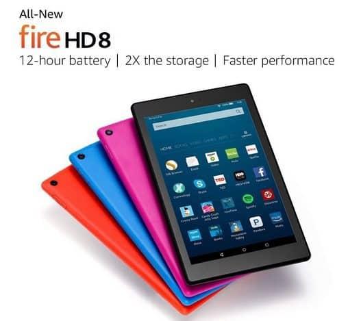 Amazon Black Friday ~ Fire HD 8 Tablet $59.99
