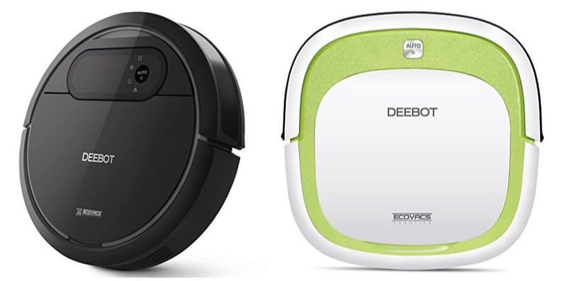 Up to 59% Off Robotic Vacuum Cleaner **as low as $134**