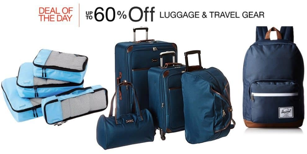 Up to 60% Off Luggage and Travel Gear **Today Only**