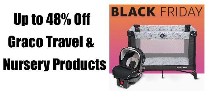 Up to 48% Off Graco Travel & Nursery Products **Today Only**