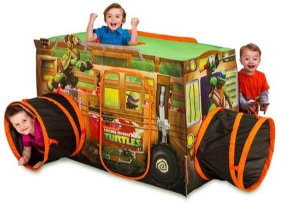 Teenage Mutant Ninja Turtles Vehicle Tent $22.40 (Was $50)