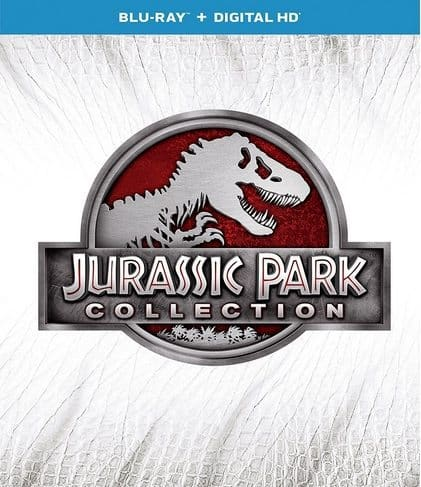 Jurassic Park Collection Blu-ray $19.99 **Today Only**