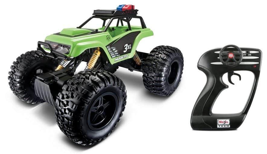 Maisto R/C Rock Crawler 3XL Radio Control Vehicle $26.29 (Was $80)