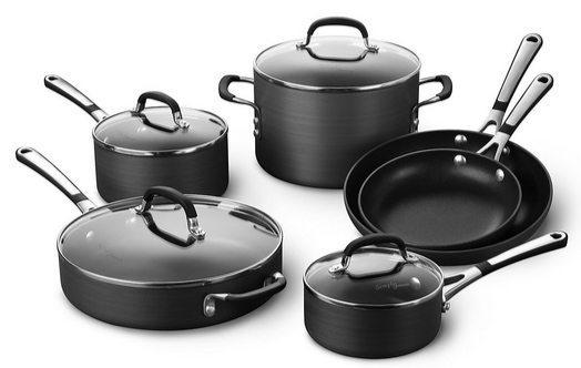 Simply Calphalon Nonstick 10 Piece Cookware Set $89.99 **Today Only**