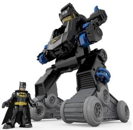 Fisher-Price Imaginext DC Super Friends RC Transforming Bat Bot $36.79 (Was $70)