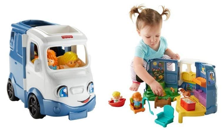 Fisher-Price Little People Songs & Sounds Camper Only $19.19
