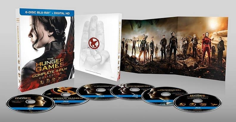 The Hunger Games: Complete 4 Film Blu-ray Collection $24.99 **Today Only**