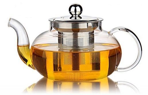 Hiware Glass Teapot with Stainless Steel Infuser <br> Only $14.99