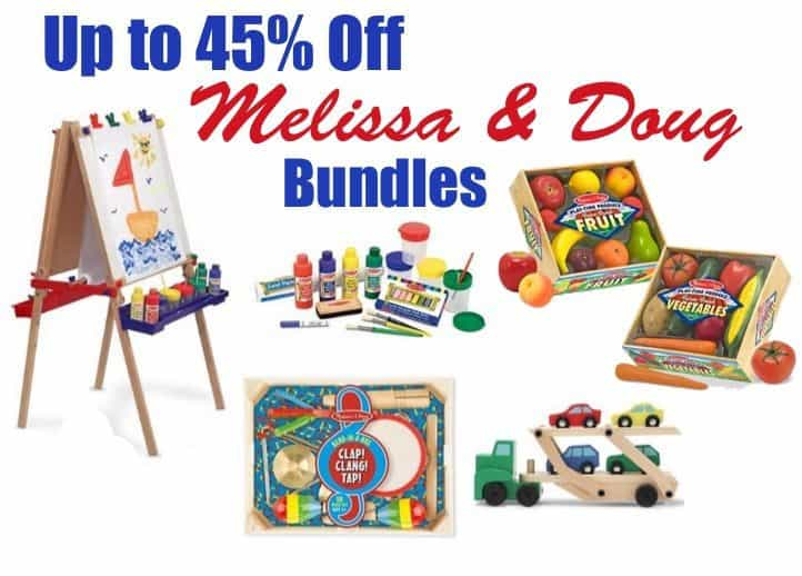 Up to 45% Off Melissa & Doug Bundles **Today Only**