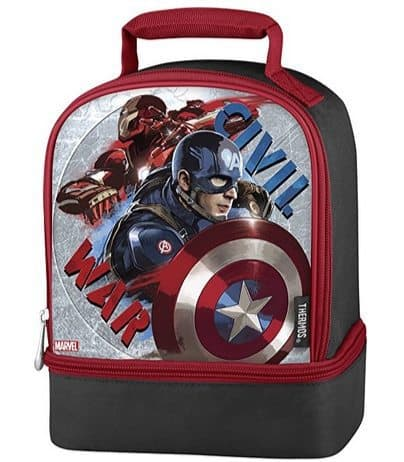 Captain America Civil War Thermos Dual Lunch Kit Only $3.49 (Was $15)