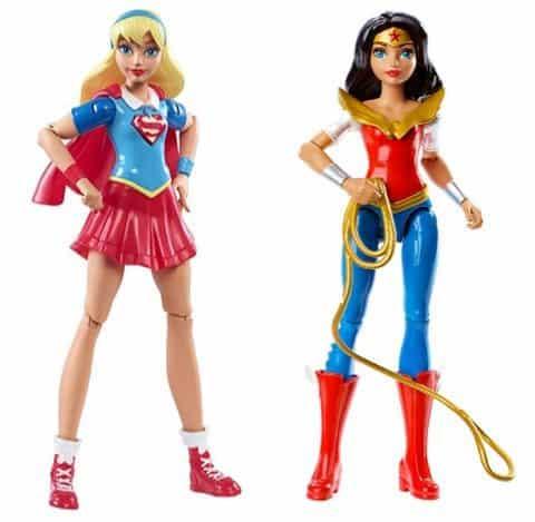 Mattel DC Super Hero Girls Super Girl Only $4.96 ~ <br>Wonder Woman Action Figure Only $6.28