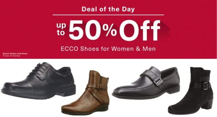 Up to 50% Off ECCO Shoes ~ Today Only!