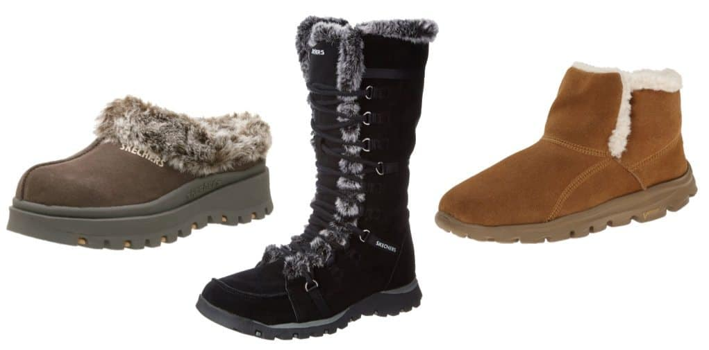 Up to 40% Off Skechers Women's Boots & Slippers **Today Only**