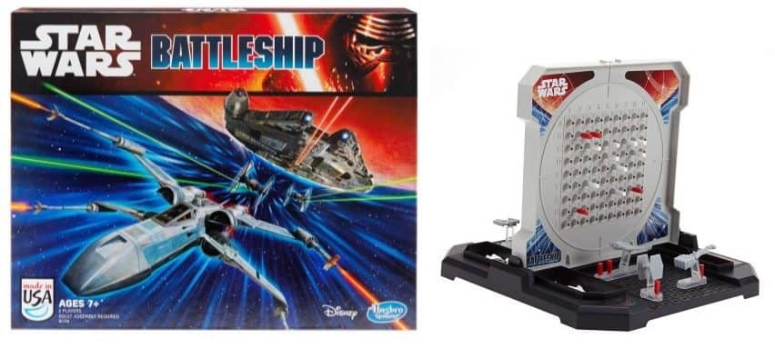 Battleship: Star Wars Edition Game Only $12.93