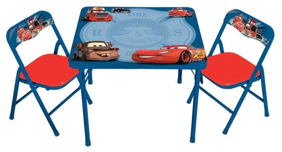 Disney Cars Hometown Heroes Erasable Activity Table Set with 3 Markers $16.77 (Was $40)