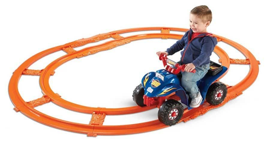 Fisher-Price Power Wheels Hot Wheels Lil Quad with Track $62.48 (Was $120)