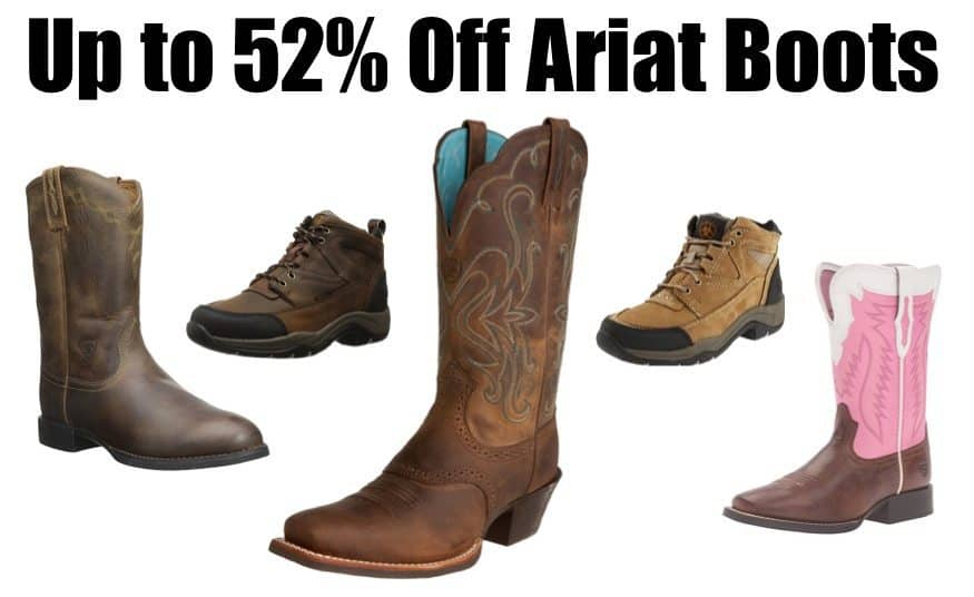 Up to 52% Off Ariat Boots **Today Only**