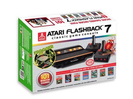 2016 Edition Atari Flashback 7 Classic Game Console Only $28 - So Cool!!!!