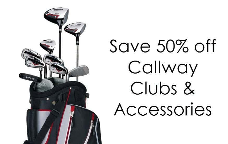 Amazon Cyber Monday Sale - Up to 50% off Callaway Clubs **SUPER RARE**