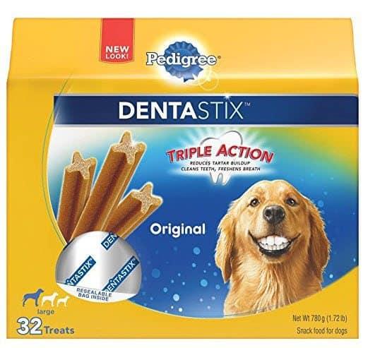 Pedigree Dentastix Large Dog Treats 32 Pack $6.57 Shipped **HOT - 50% Off**
