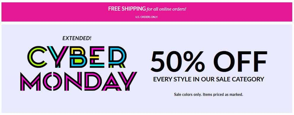 Vera Bradley Cyber Monday Sale - 50% off Select Styles + Free Shipping on ANY Order **Ends Tonight**