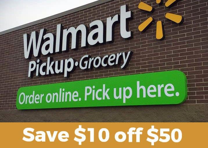 Save $10 Off Any $50 Walmart Grocery Purchase