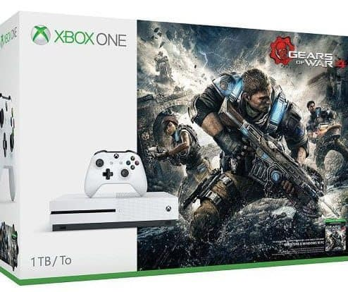 Xbox One S 1TB Console - Gears of War 4 Bundle $269 Shipped