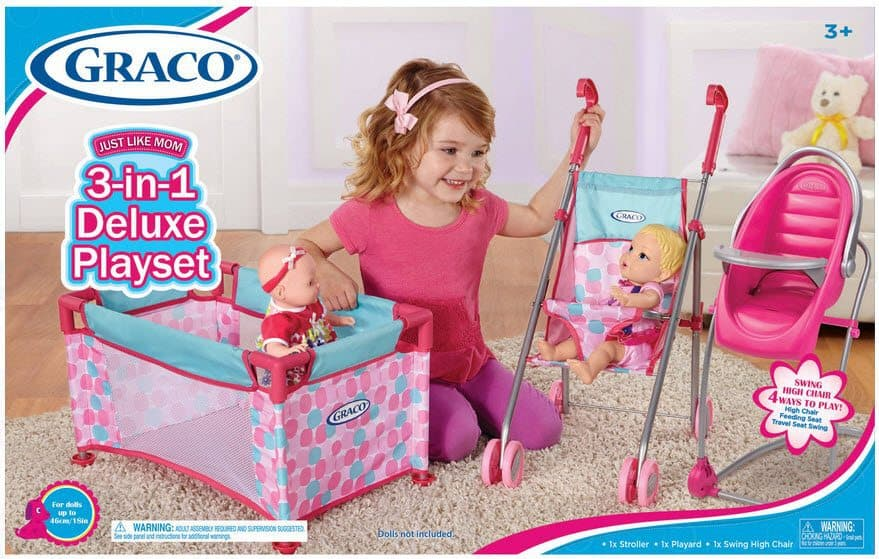 Graco Deluxe Playset $25 (Was $40) w/ Free Shipping