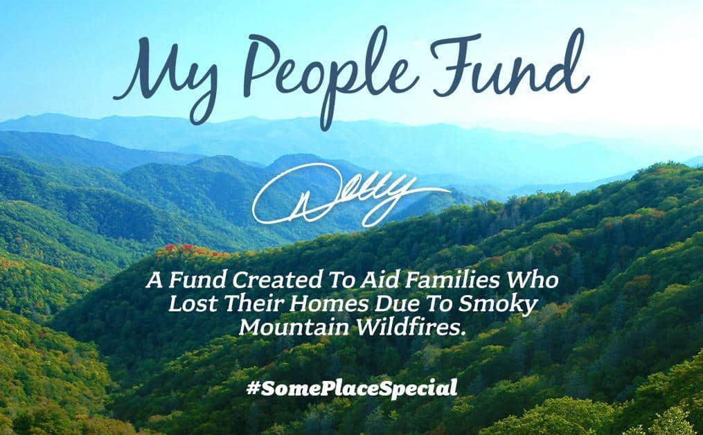 Dolly Parton Offering $1,000 a Month to Tennessee Families Left Homeless in Wildfires