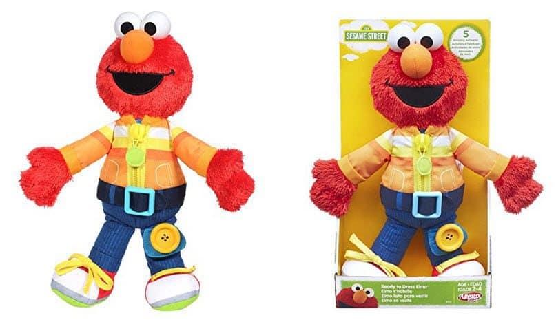 Playskool Sesame Street Ready to Dress Elmo $10 (Was $20)