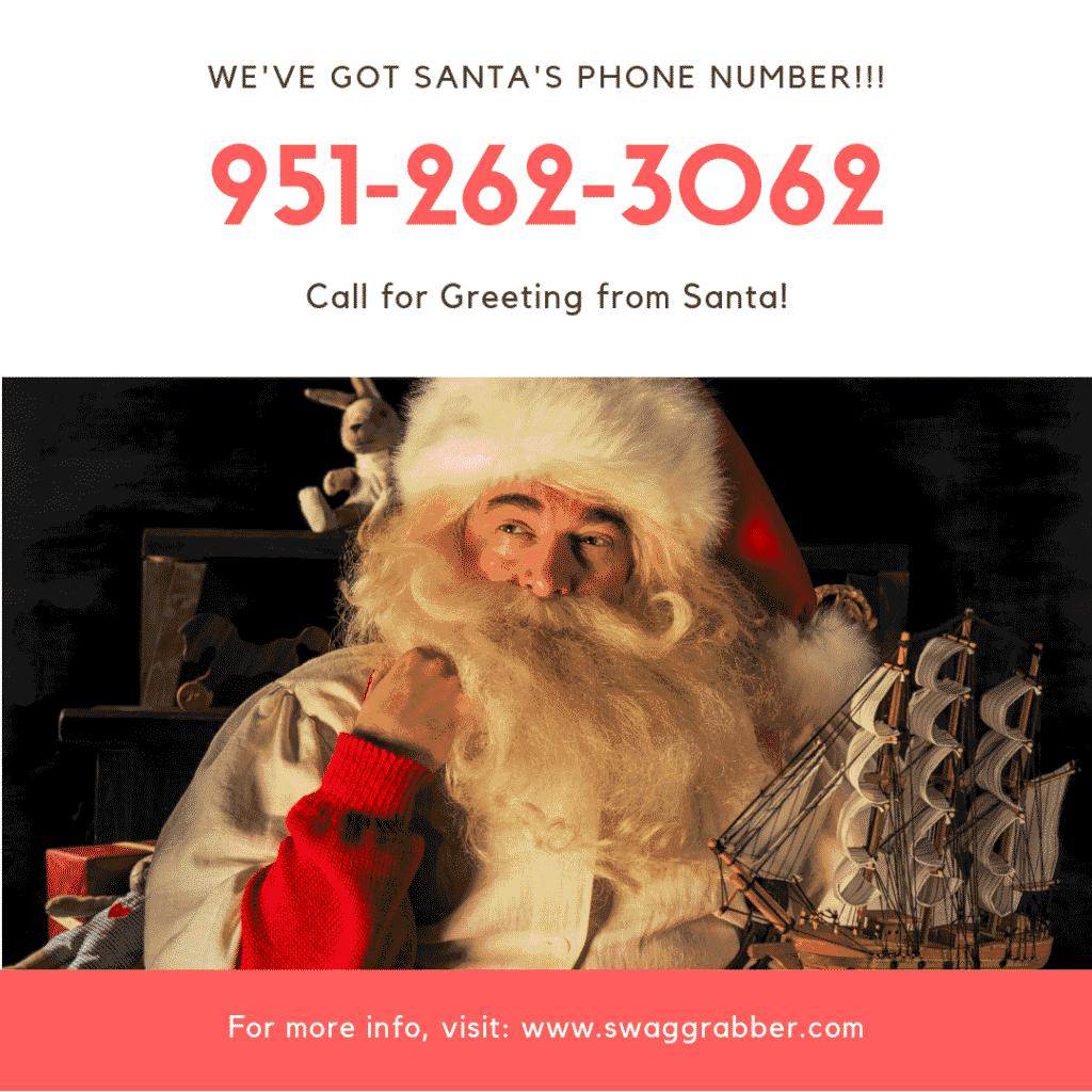 Call Santa - We've Got His Number ;)