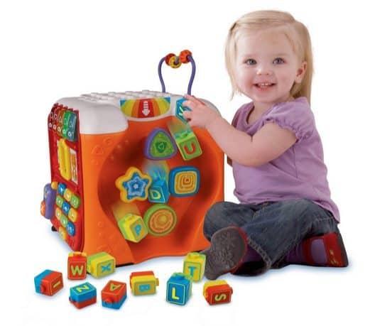 VTech Alphabet Activity Cube $31.59