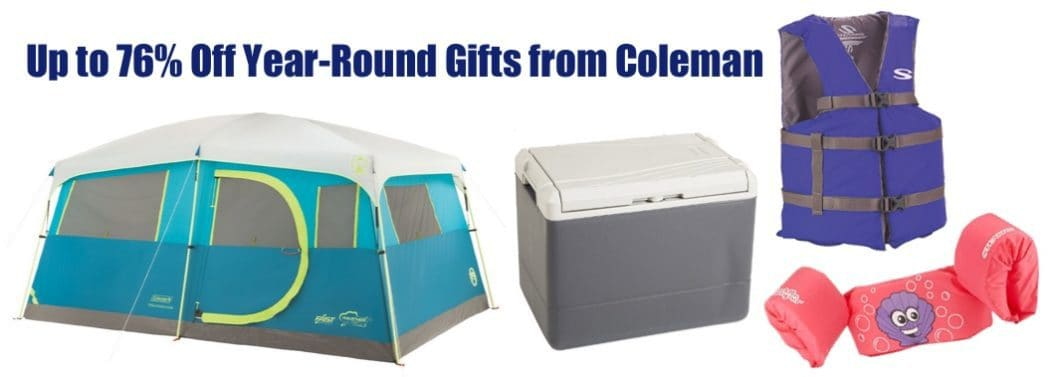 Up to 76% Off Year-Round Gifts from Coleman **Today Only**