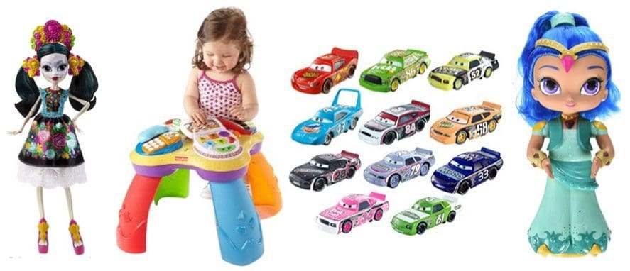 Up to 77% Off Mattel, Fisher-Price & Mega Bloks Toys ~ Prices Start at $4.19 **Today Only**