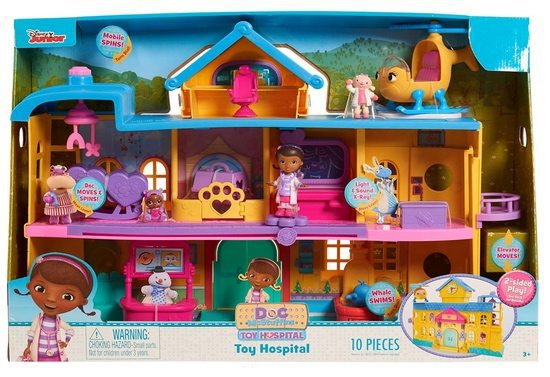 Just Play Doc McStuffins Toy Hospital Playset $49 (Was $70)