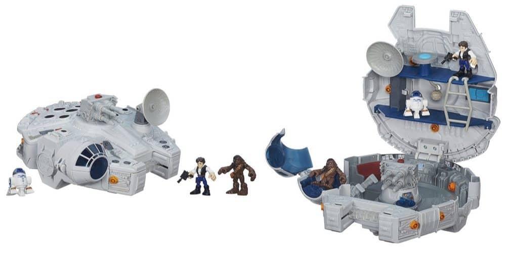Playskool Heroes Star Wars Galactic Heroes Millennium Falcon Set $23.79