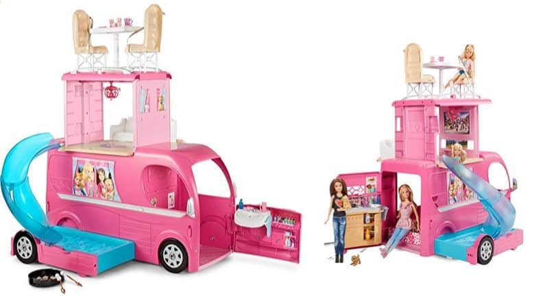 Barbie Pop-Up Camper Vehicle $59.99 (Was $100)